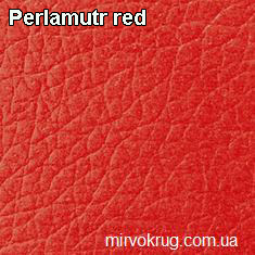 madras perlamutr red